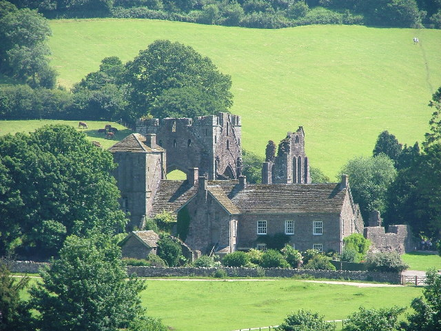 LLanthony Priory basking in the sun