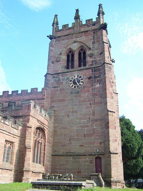 Parish church of St. Bertoline, Barthomley