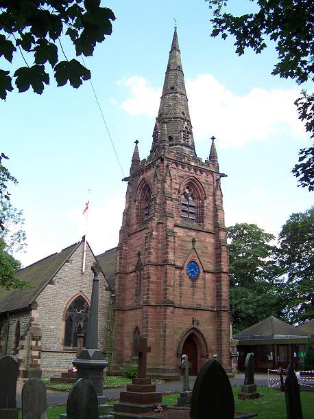 Great Barr parish church
