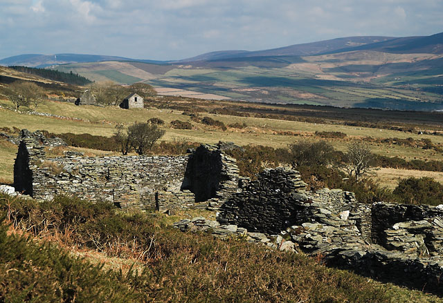 "Ruins of ""Carnagrie.""   Isle of Man."