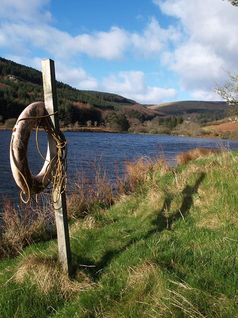 Injebreck  Reservoir.   Isle of Man.