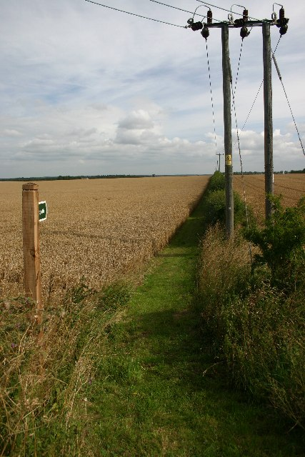 Footpath at Risby