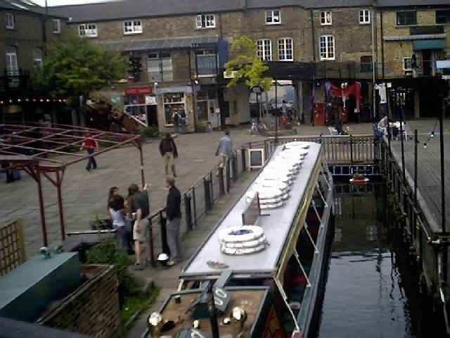 Canal Boat at Camden Lock, Camden Market