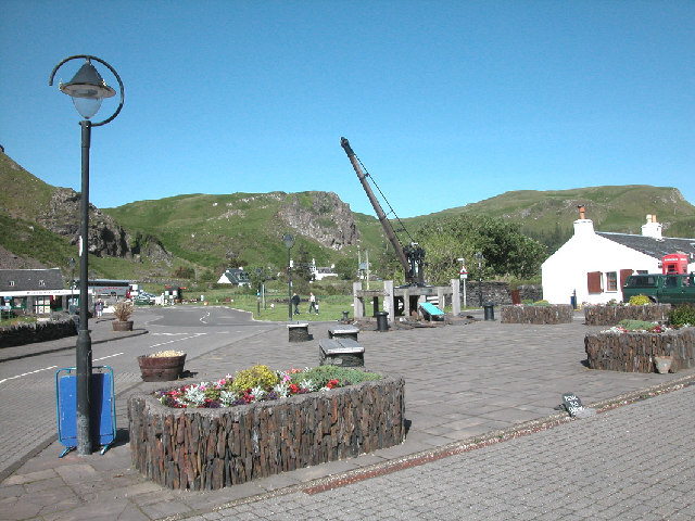 Easdale Village centre