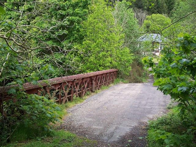 Old Eachaig Bridge