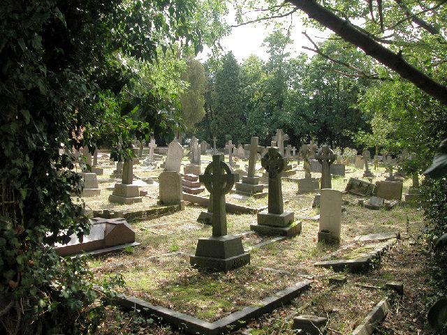 Graveyard Malden Church