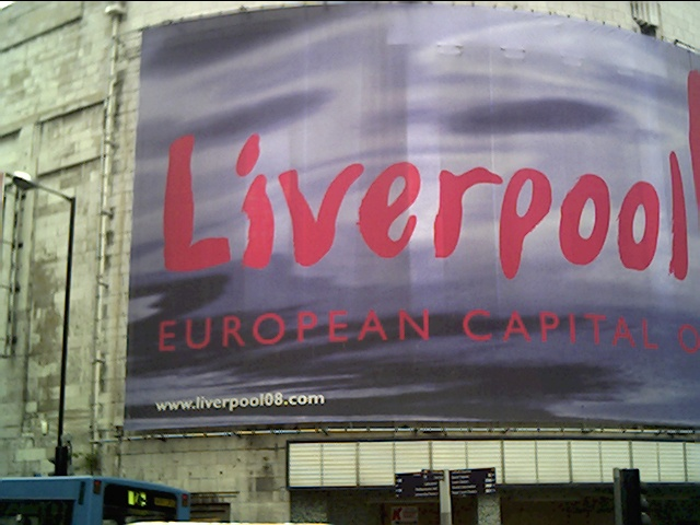 Advert for European Capital of Culture 2008
