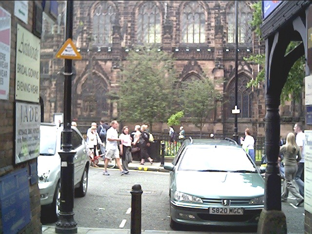 Chester Cathedral from Godstall Place