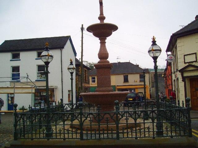 Llandovery Market Square
