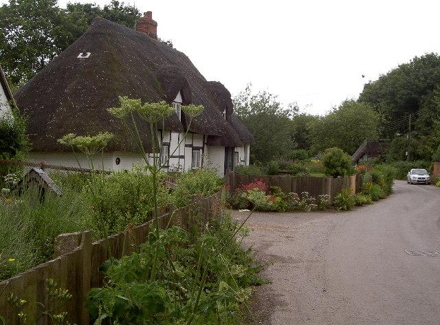Cottages at Ablington, Wiltshire