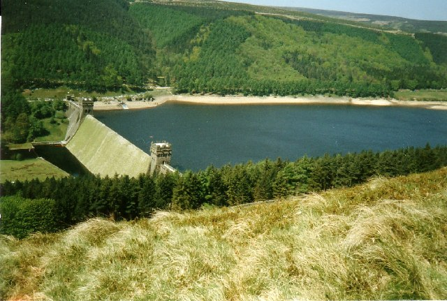 Derwent Dam, Derbyshire