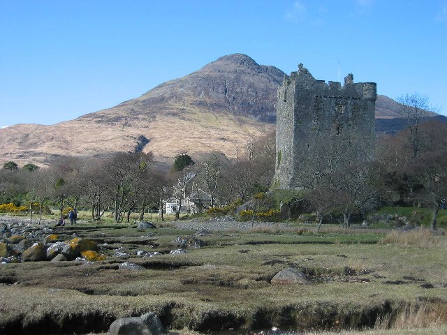 Moy Castle on Mull