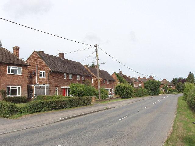Houses on B4444, Princes Risborough