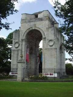 War Memorial, Victoria Park, Leicester