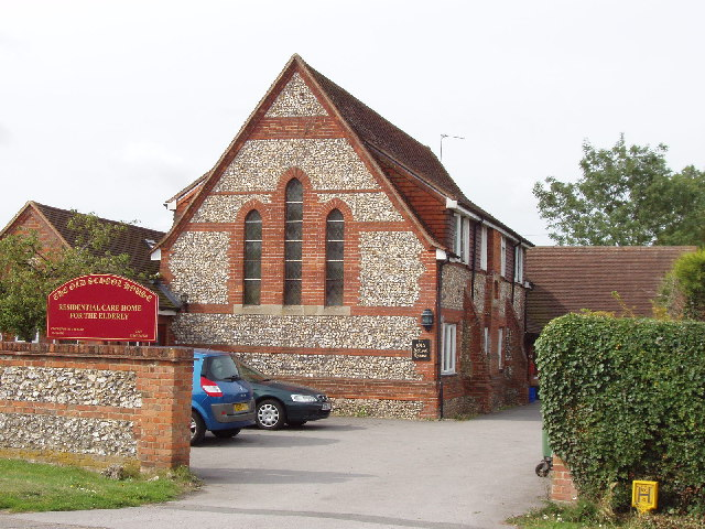 Former school now a care home in Longwick