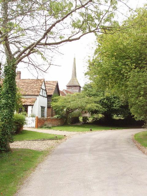 Ilmer Church and surroundings