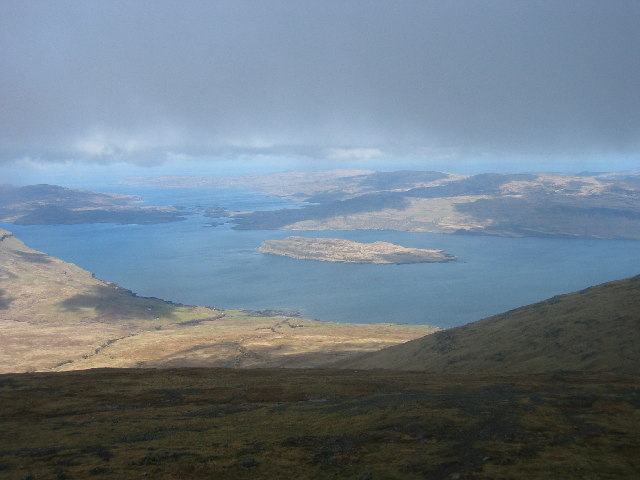 Eorsa off the coast of Mull