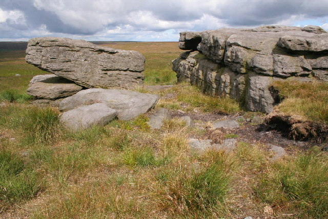 Rocking Stone, Warley Moor