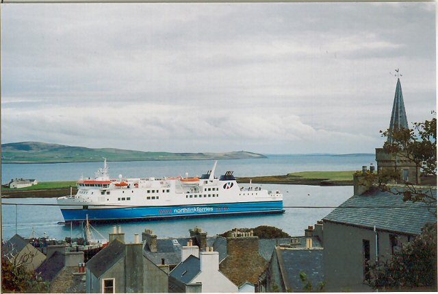 Ferry at Stromness