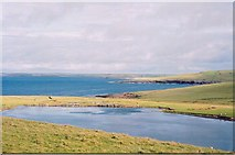 HY3949 : Loch of the Stack, Westray by Lis Burke