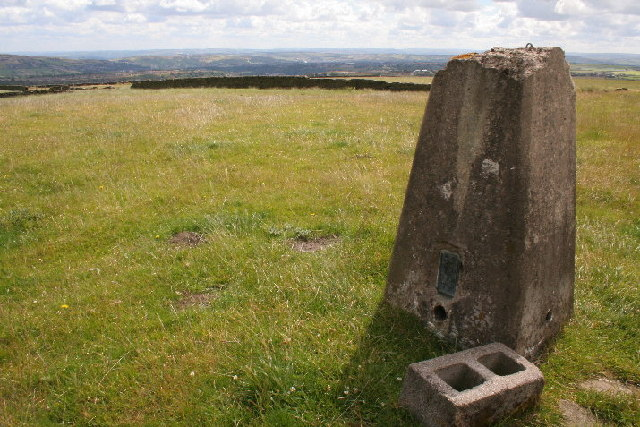 Trig point near Wainstalls