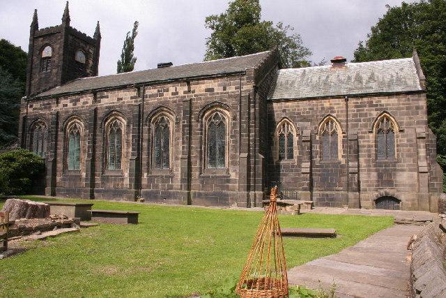 St Mary's Parish Church, Luddenden