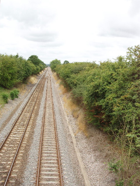 Railway near Haddenham