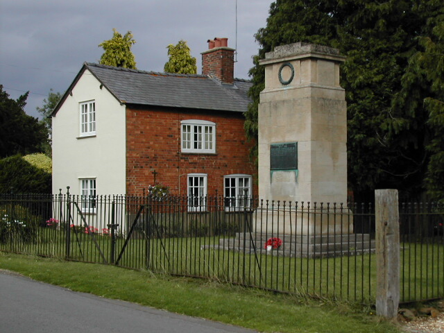 War Memorial at Great Brington