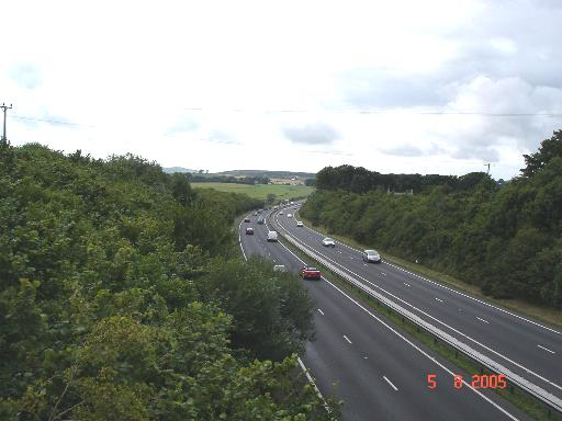 A55 near Pantasaph