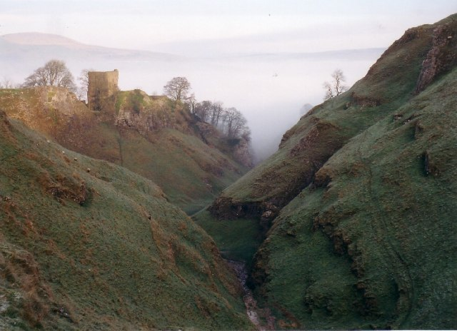 Cavedale and Peveril Castle