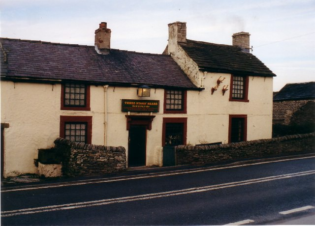 Three Stags Heads