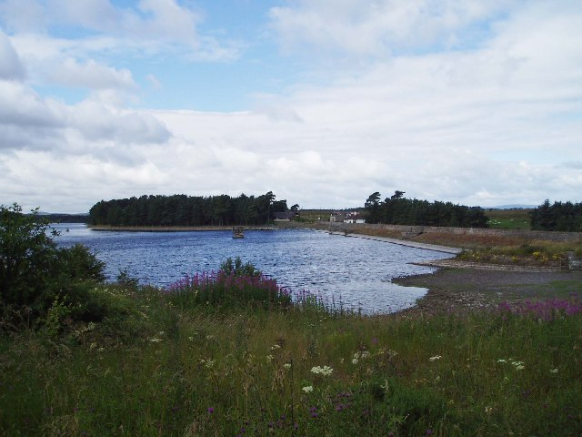Gladhouse Reservoir Dam