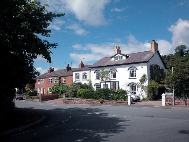 Old Houses in Upton by Chester