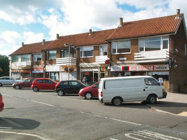 Parade of shops in Cottingley