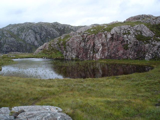 Lochan above Tollie path