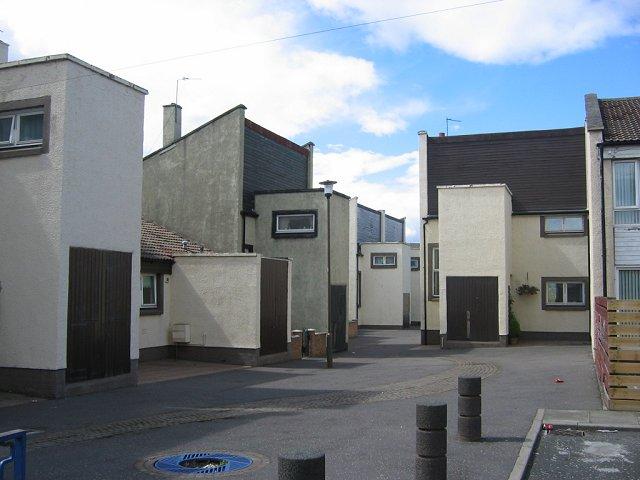 Angular houses, Prestonpans
