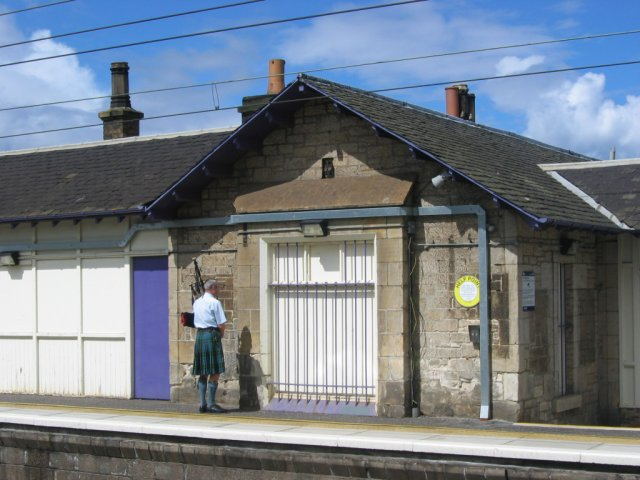Prestonpans Railway station.