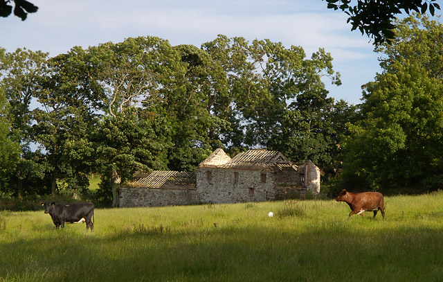 Derelict farm buildings, Ballacottier. Isle of Man