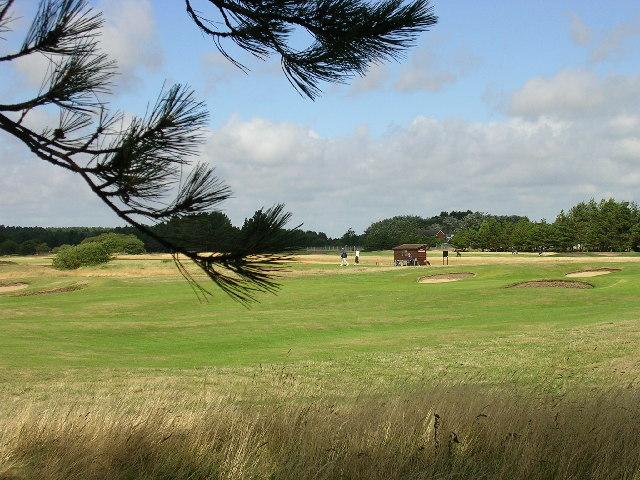 Golf Links, Freshfield, Formby, Merseyside