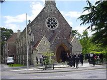 SZ0590 : All Saints Church  Branksome Park by Colin Foot