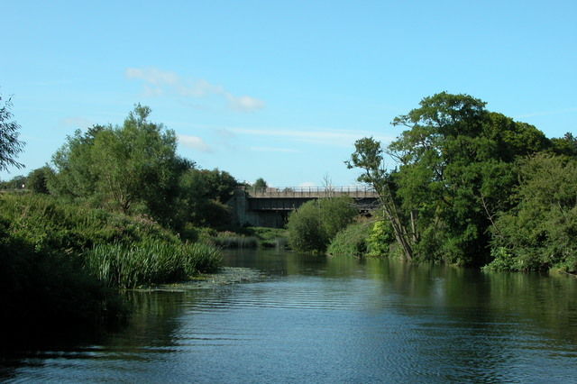 Disused railway bridge over the River Avon, near Saltford