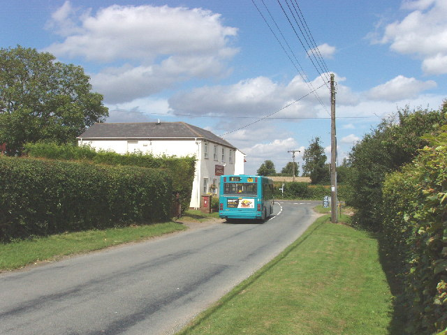The Inn at Emmington, and local bus