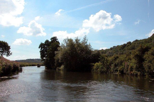 River Avon, near Keynsham Hams.