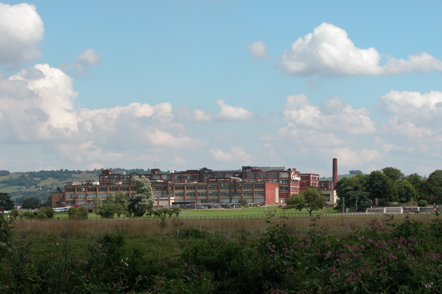 Cadburys chocolate factory at Somerdale