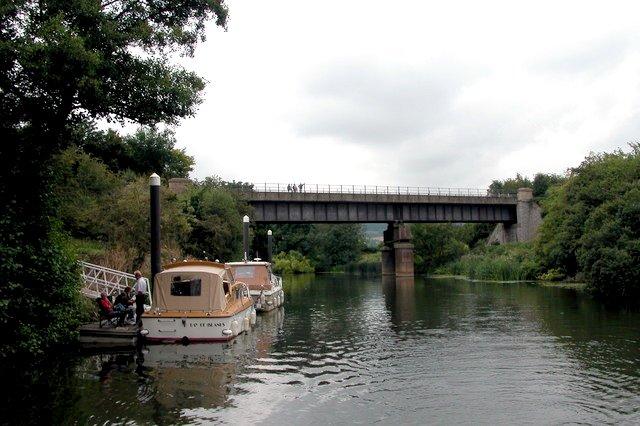 Avon Walkway  path crossing the River Avon.