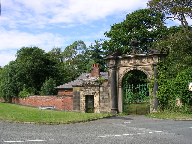 Gateway to Ince Blundell Park.