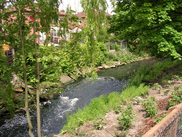 River Irk, Blackley, Manchester