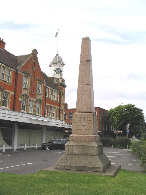 The William Hunter Memorial, Brentwood, Essex