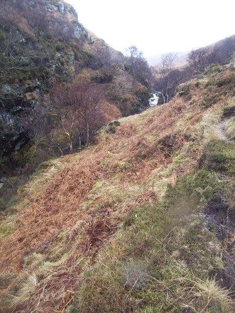 Gorge on Gleann Easan Biorach