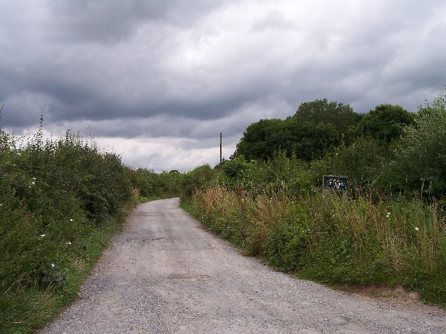 The Lane to The Riddings Farm